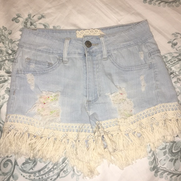 Altar'd State Pants - Jean shorts